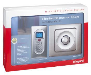Prêt à poser Céliane : Alarme intrusion radio