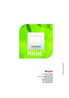 Brochure - Niloé